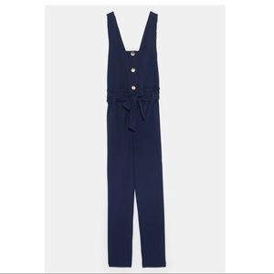Zara Pants - ZARA new! Belted jumpsuit. NWT